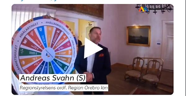 Andreas Svahn snurrar på Hållbarhetshjulet!