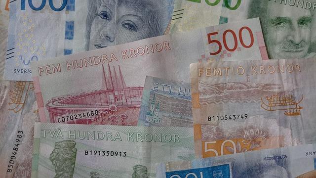 bild av svenska sedlar