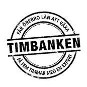 Stämpel med texten Timbanken.