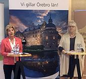 Maria Larsson och Irén Lejegren