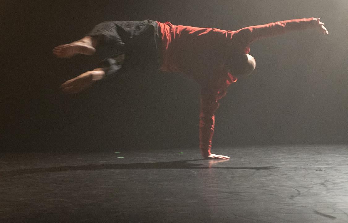 Toby Gunn, dansfestivalen Going solo together. Foto Hans Finckh