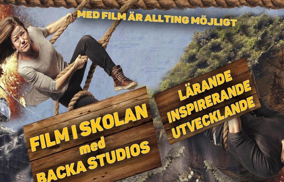 """Film i skolan med Backa Studios """"Med film är allt möjligt"""""""