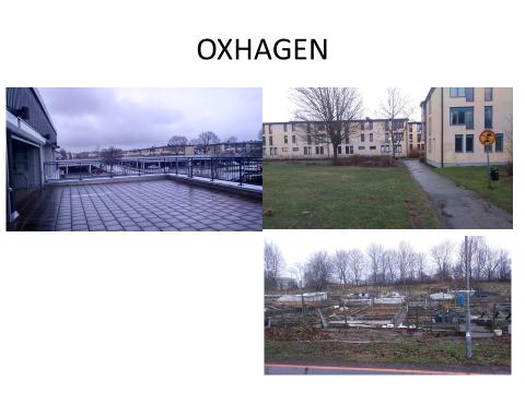 Stadsdelen Oxhagen i Örebro