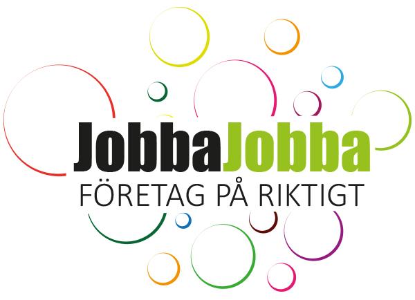 Logotyp: JobbaJobba Företag på riktigt