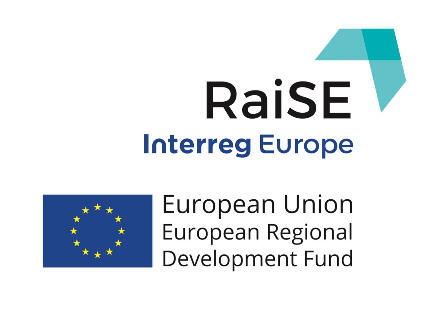 RaiSE Interreg Europe's logotyp