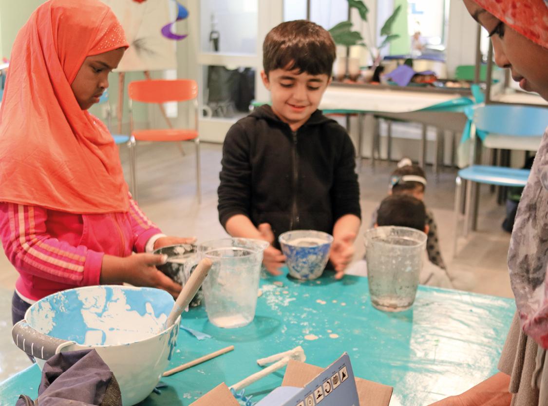 Workshop med Knutte Wester för nyanlända barn