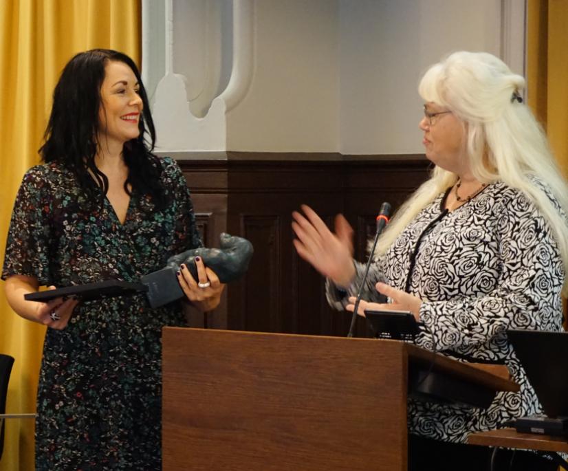Maria Sveland 2017 års kulturpristagare