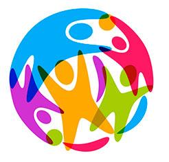 Logotyp tematisk plattform social ekonomi