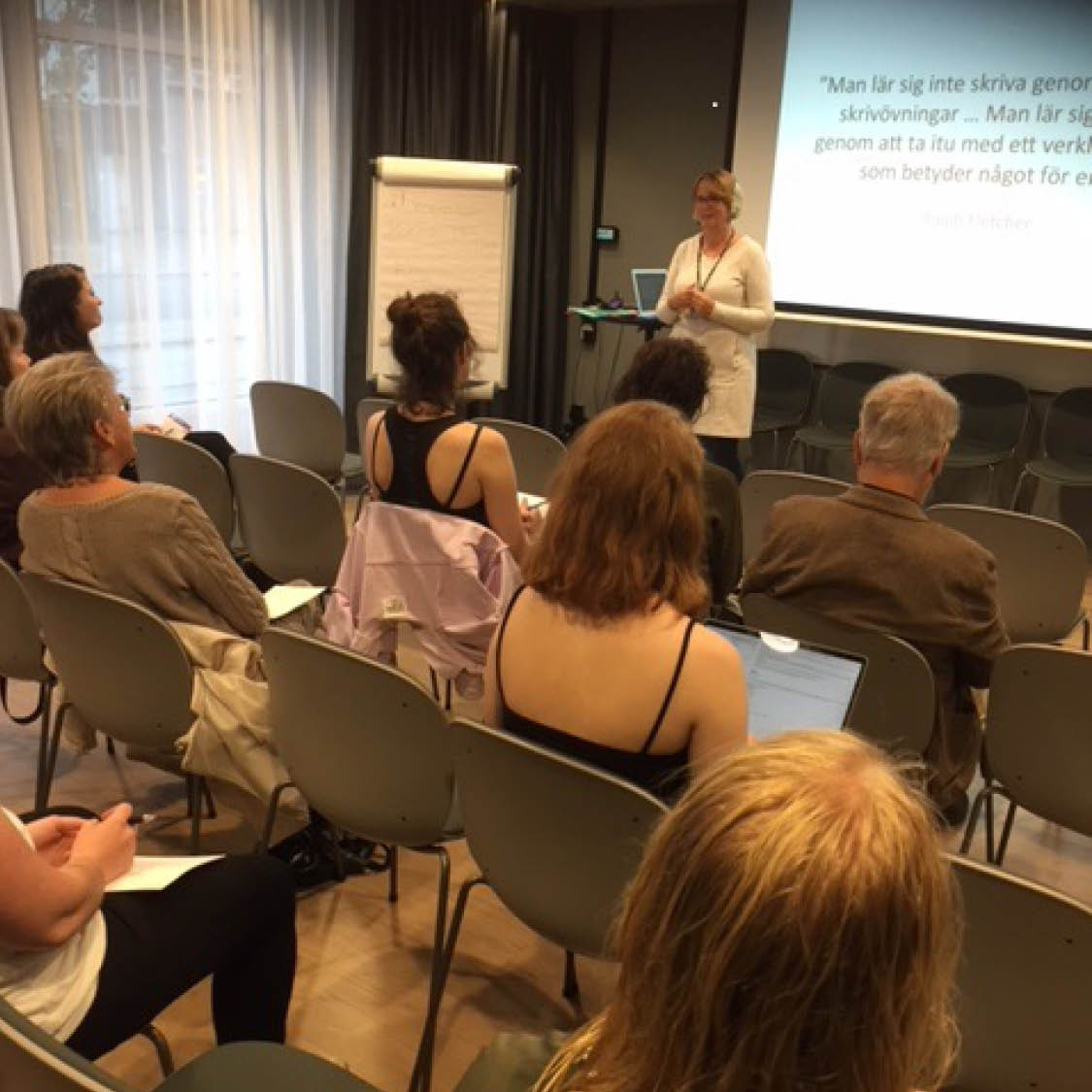 Inger Lundin, Live at heart Literature